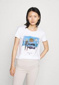 Patrizia Pepe - Print T-shirt - white - 0