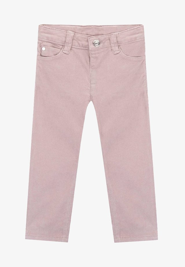 VIRGINIA  - Trousers - bark/mauve