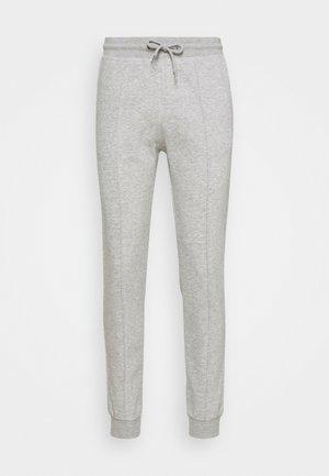 Pantalon de survêtement - mottled light grey