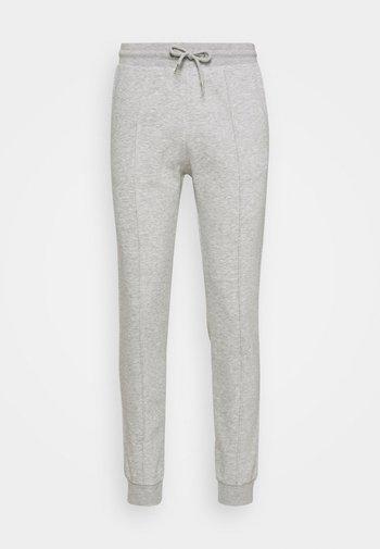 Tracksuit bottoms - mottled light grey