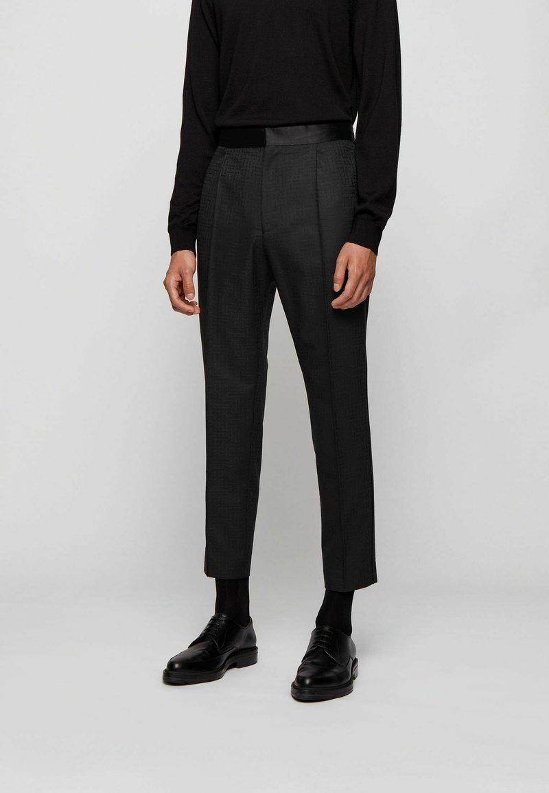 BOSS - Trousers - black
