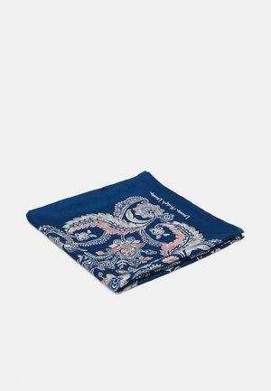 FRANCES SQUARE SCARF - Šátek - shibori blue