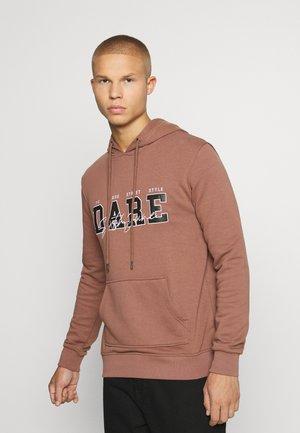DARE HOODIE - Sweatshirt - brown