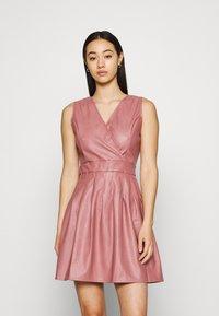 WAL G. - ZASHA MINI DRESS - Cocktail dress / Party dress - dark blush pink - 0