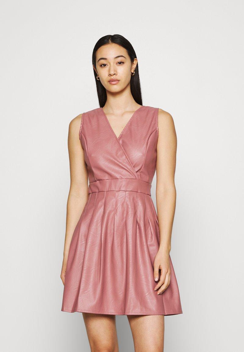 WAL G. - ZASHA MINI DRESS - Cocktail dress / Party dress - dark blush pink