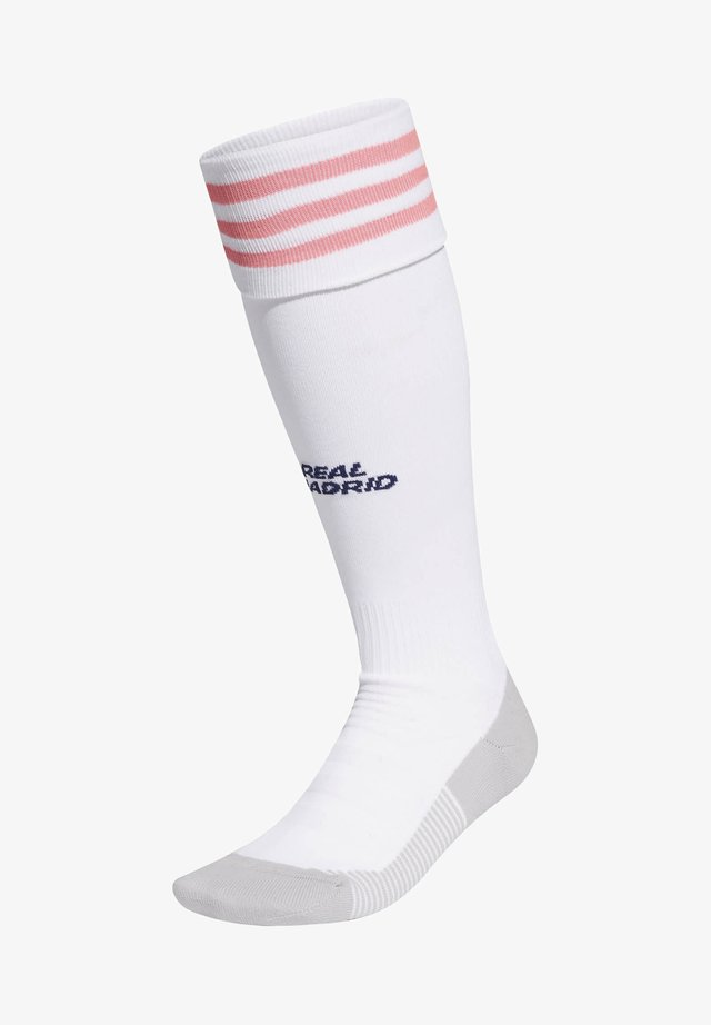REAL MADRID 20/21 HOME SOCKS - Sports socks - white