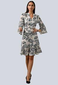 Alba Moda - Day dress - weiß/schwarz - 0