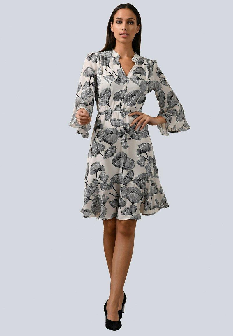 Alba Moda - Day dress - weiß/schwarz