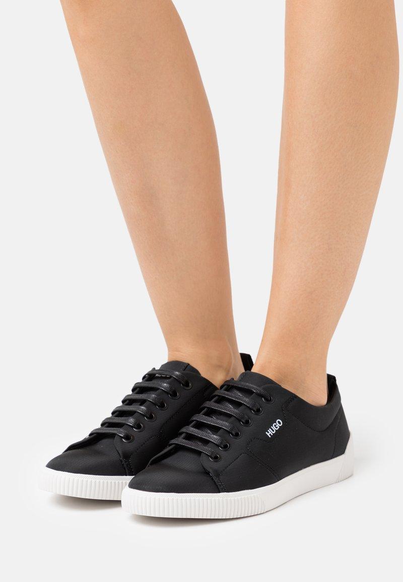 HUGO - TENN - Sneakers basse - black