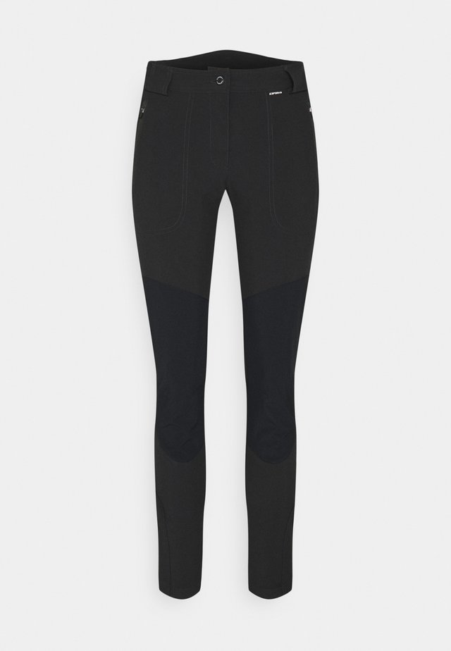 DORAL - Outdoor trousers - anthracite