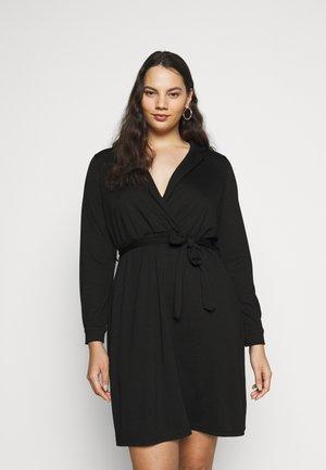 JRJENIVER ABOVE KNEE DRESS - Day dress - black