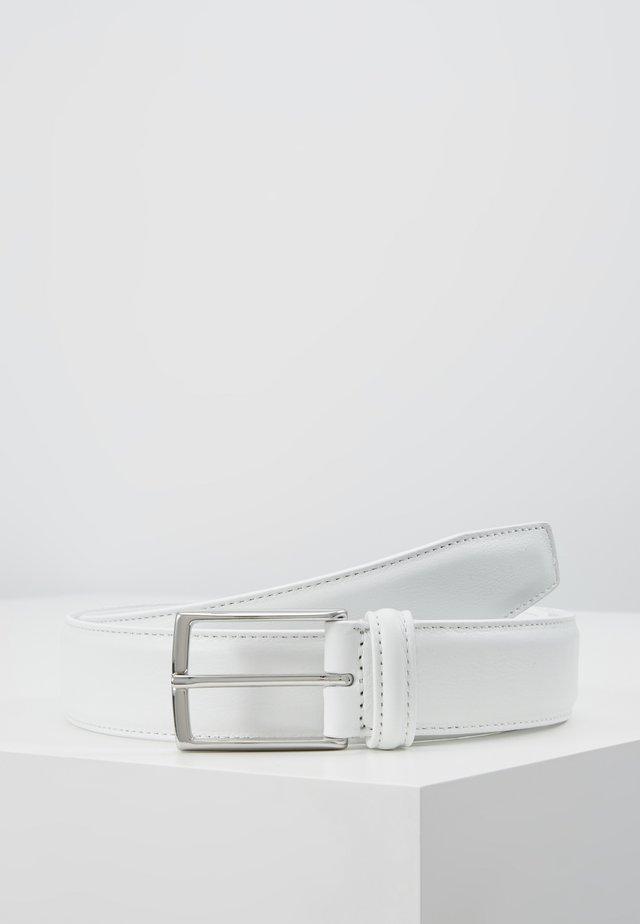 SMOOTH BELT SEAM - Belt - white