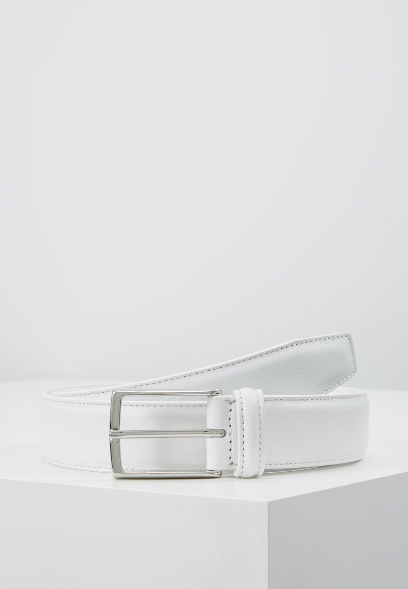 Anderson's - SMOOTH BELT SEAM - Pásek - white