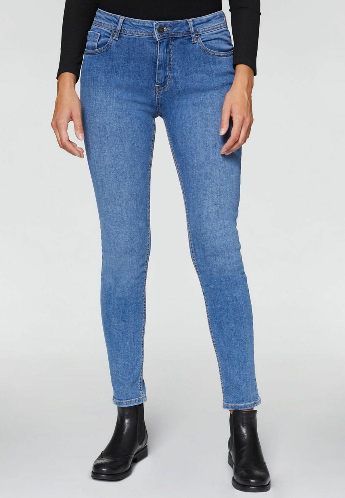 Donna HIGH - Jeans slim fit