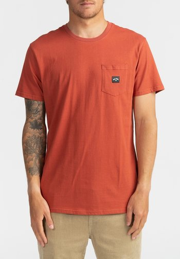 STACKED  - Basic T-shirt - deep red