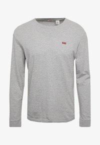 Levi's® - ORIGINAL TEE - Maglietta a manica lunga - grey heather - 3