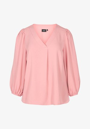 WITH PUFF SLEEVES - Blouse - pink