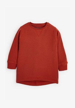 TEXTURED - T-shirt basic - orange