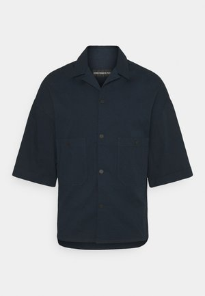 WANJA - Shirt - dark blue