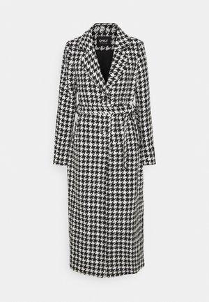 ONLRITA FITTED LONG COAT - Klassinen takki - black