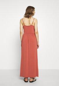 Vero Moda - VMDITTA SINGLET ANCLE DRESS - Maxi dress - marsala - 2