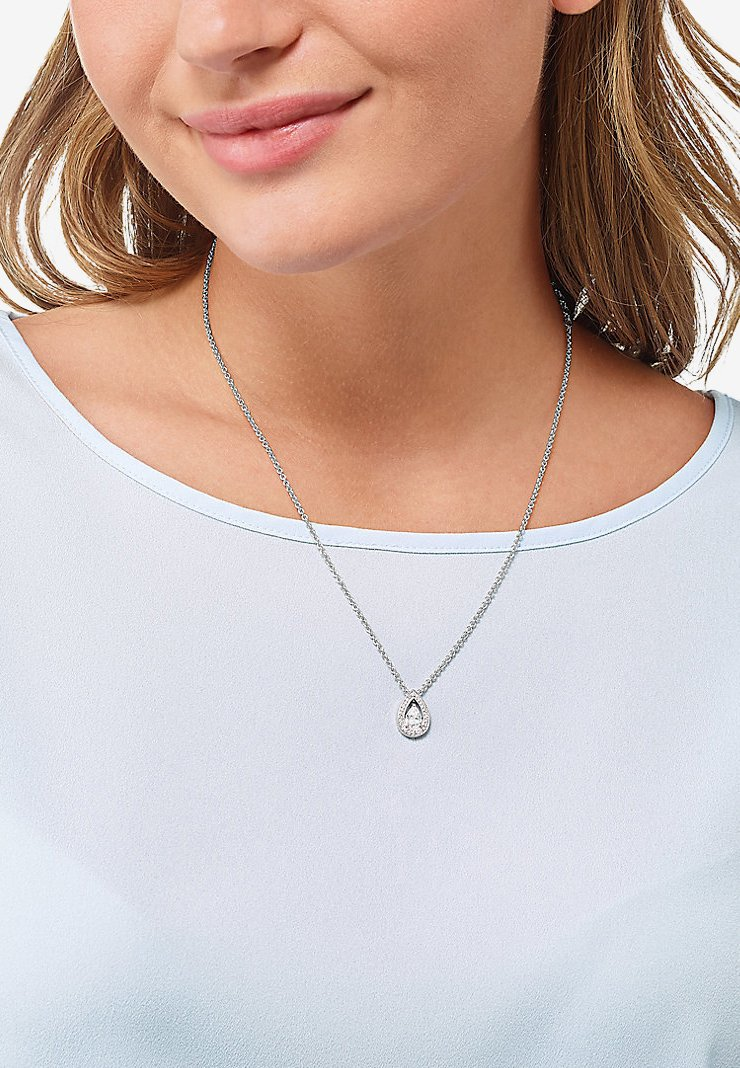 FAVS - Necklace - silver-coloured