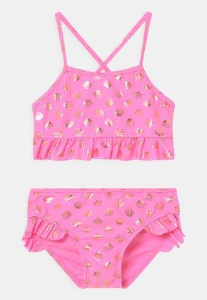 FRILLS SET - Bikini - sugar pink