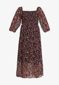 New Look - SHIRRED MIDI - Maxi dress - black pattern - 3