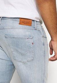 Replay Plus - Jeans Slim Fit - hellblau destroyed - 3