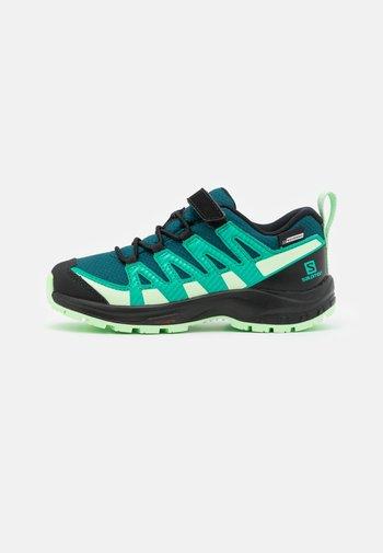 XA PRO V8 CSWP UNISEX - Hiking shoes - deep teal/black/patina green