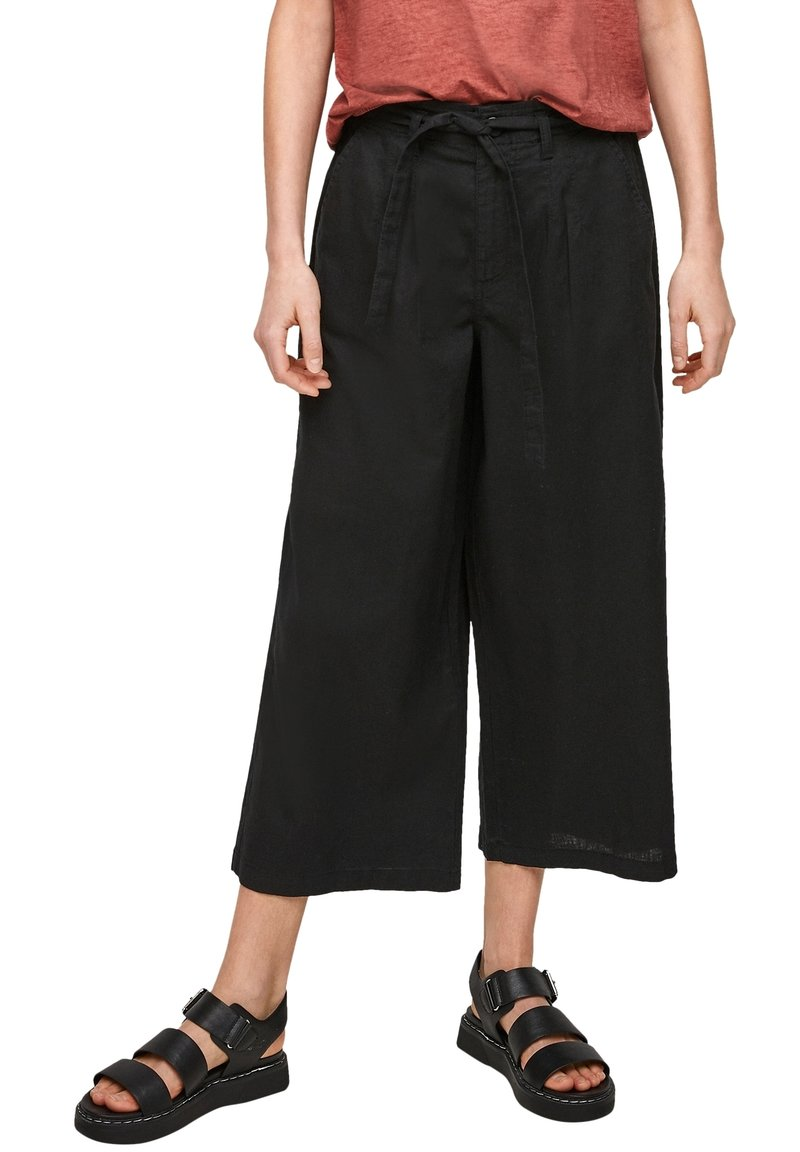 Q/S designed by - Trousers - black