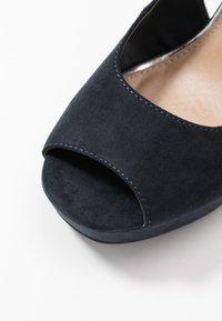 Anna Field - High heeled sandals - dark blue - 2