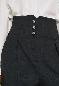 Pinko - JOSEPH TROUSERS - Trousers - dark grey - 3