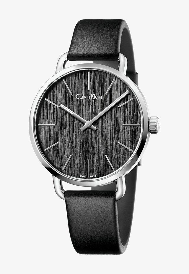 EVEN - Watch - schwarz