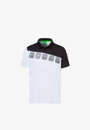 5-C POLOSHIRT KINDER - Poloshirt - white/black