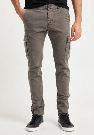 Cargo trousers - militär oliv