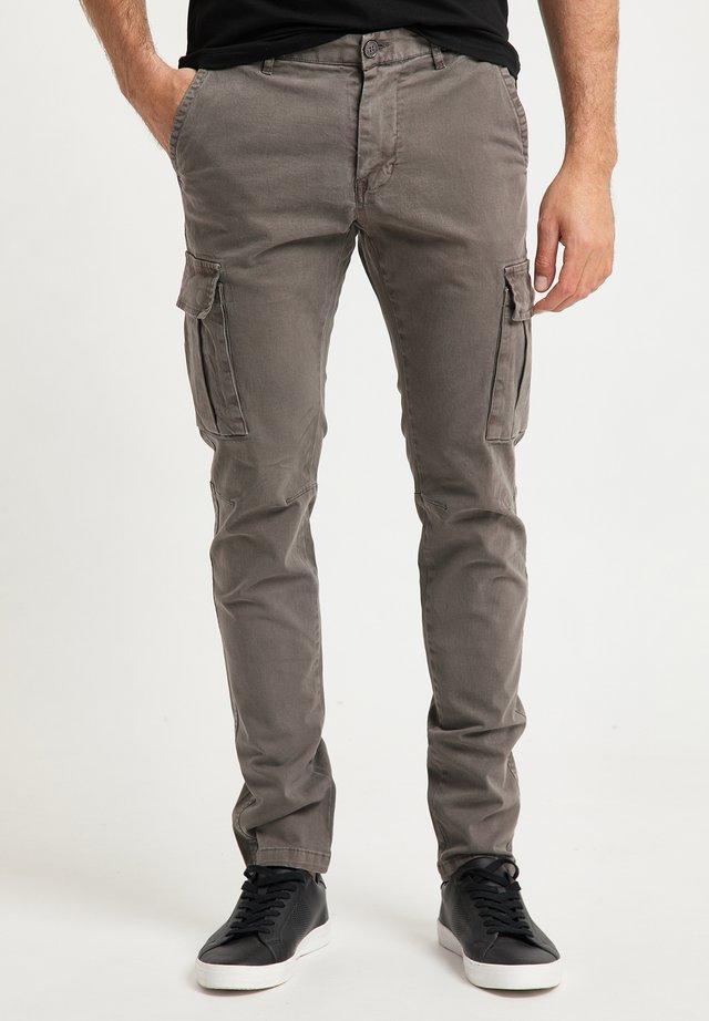 Pantaloni cargo - militär oliv