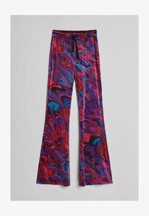BEDRUCKTE - Teplákové kalhoty - neon pink