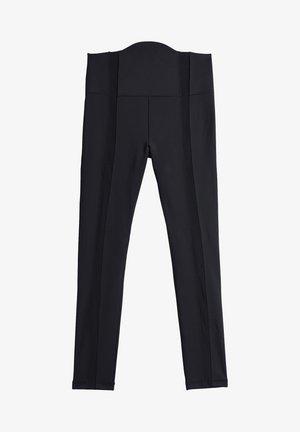 IVY PARK MESH PANEL TIGHTS - Leggings - Trousers - black