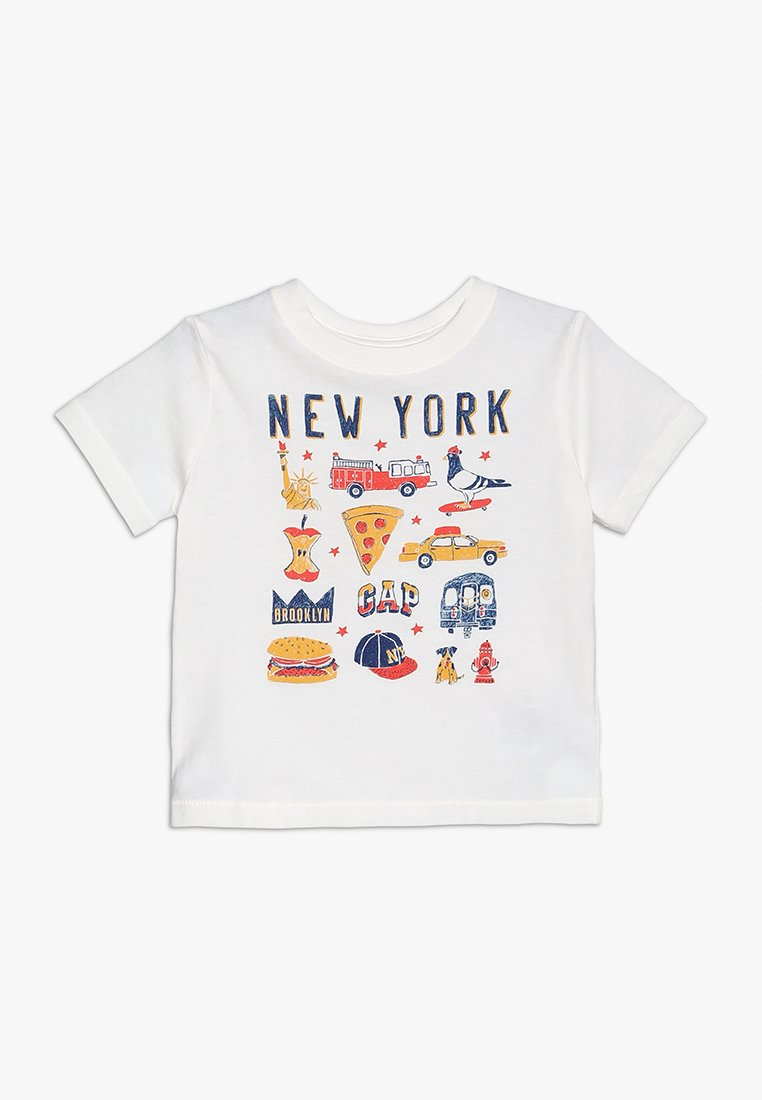 GAP - TODDLER BOY CITY - Print T-shirt - new off white