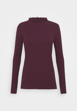 Sweter - dark red