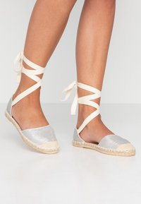 New Look - MOON - Espadrilles - silver - 0