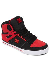 DC Shoes - PURE - Skate shoes - fiery red/white/black - 1