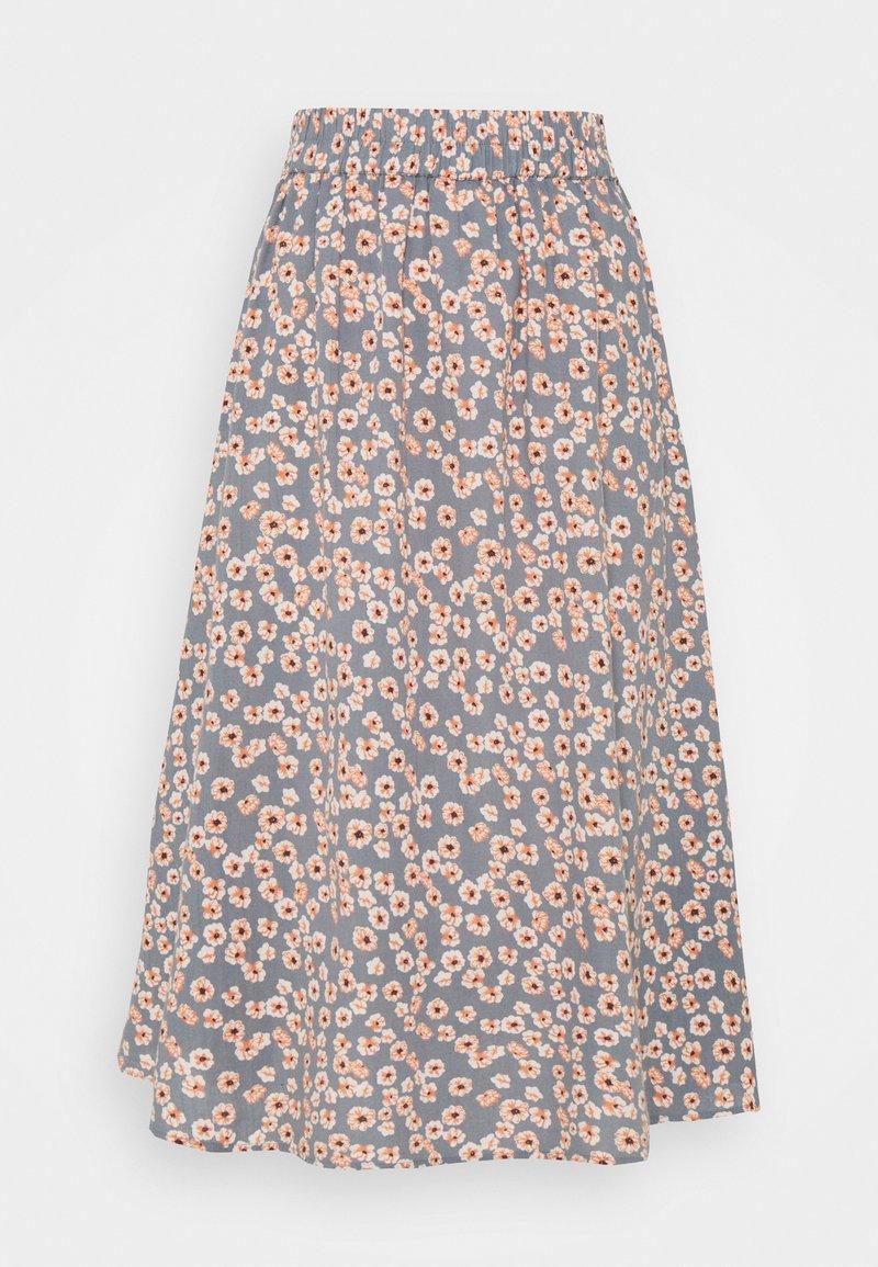 PIECES Tall - PCCINDY MIDI SKIRT - A-line skirt - trooper