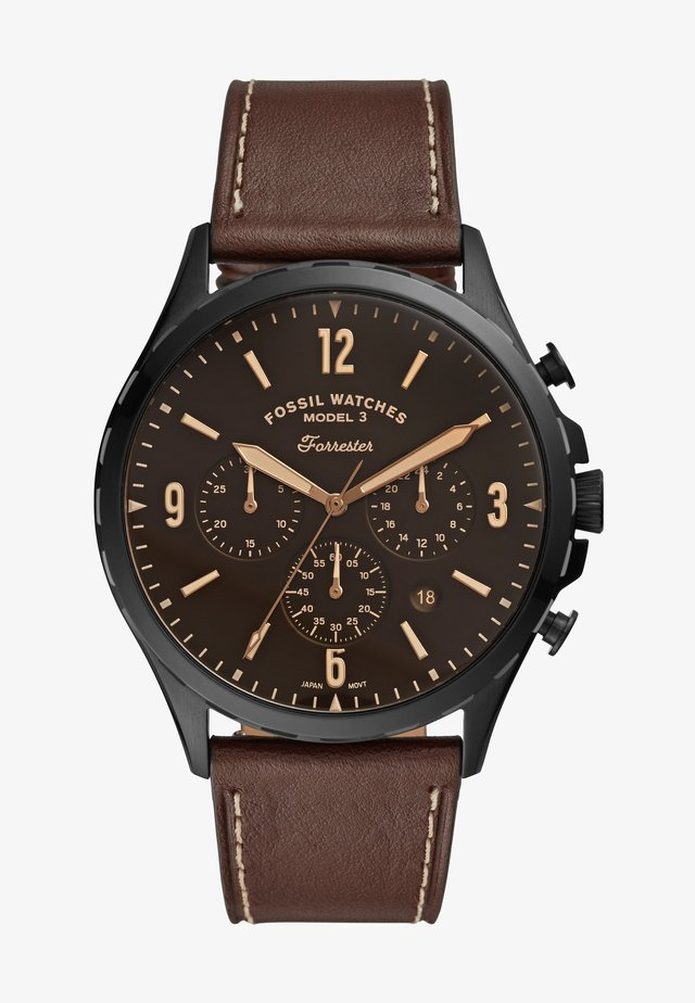 FORRESTER - Chronograph watch - brown