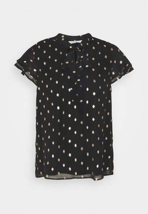 ONLISABELLA   - T-shirt con stampa - black/rosegold