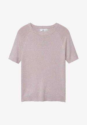 ALMAECO - T-shirts basic - licht/pastelpaars