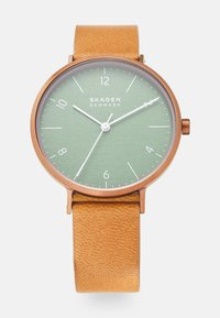 Skagen - Watch - brown - 0