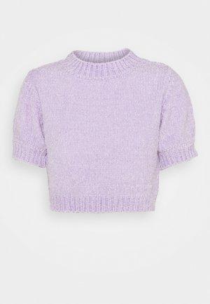 CHENILLE - T-shirt basic - lilac