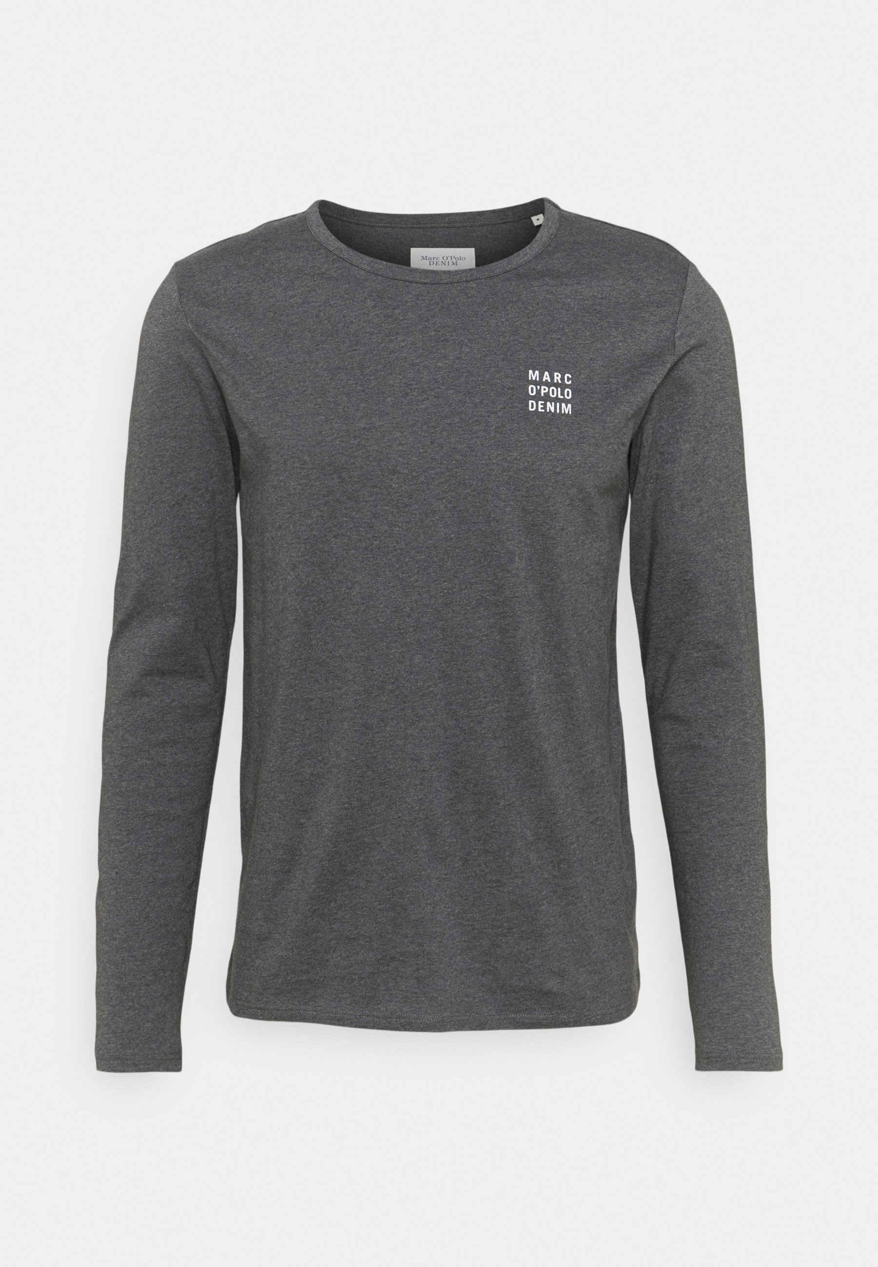Uomo LONG SLEEVE SMALL LOGO PRINT - Maglietta a manica lunga